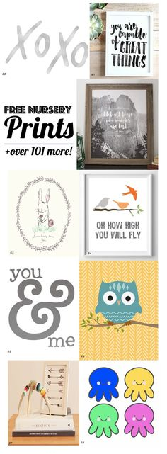 126 Best Nursery Prints Ever