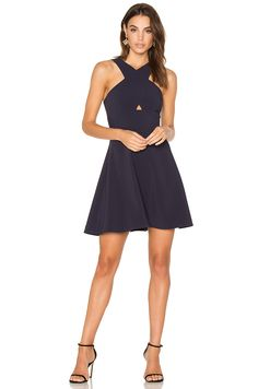 LIKELY Kensington Dress in Navy | REVOLVE
