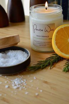Pontie Wax | Wild Orange Soy Wax Candle