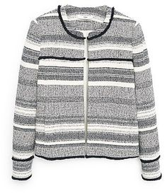 Womens black and white jacket from Mango - £69.99 at ClothingByColour.com