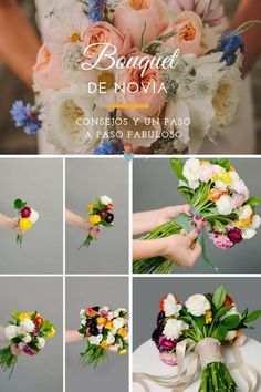 Tutorial de bouquet de novia.