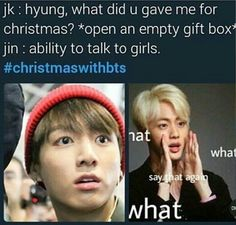 BTS| Lmao, oh Jin the gifts u give // ChristmasWithBTS