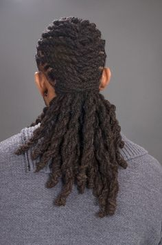 Long Dreadlock style