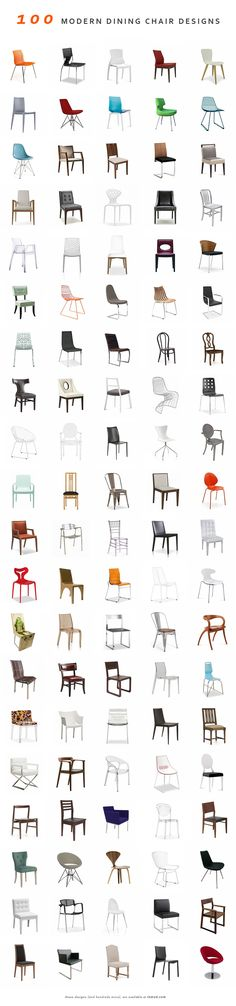 100 Modern Dining Chairs (and hundreds more) @ Inmod.