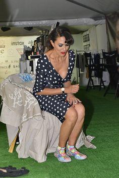 Maria Grazia Cucinotta ha scelto di provare le Akkua R'Evolution a #Venezia71