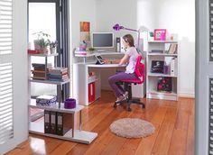 Yo pongo los escritorios con más espacio  #escritorio #mueble #trabajo