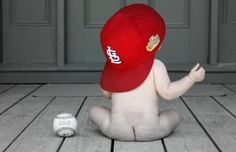 can't wait to have a little boy and do this with a Lions or Tigers hat and surprise Matty! <3