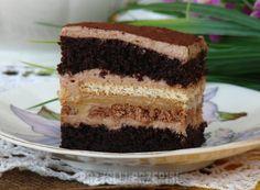 Ciasto karmelowo - Nutellowe