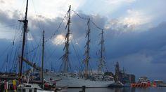 Bremerhavener Regenhimmel..