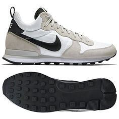 Nike Internationalist Mid 682844-100 Summit White/Anthracite/Grey Men's Shoes (size 7)