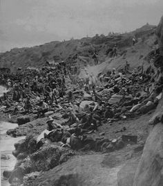 The Waters Edge At Suvla Bay Ww1 Photos, Black Watches, Anzac Day, Military Operations, World War I, Wwi, First World, Shots, Australia