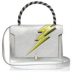 Lightning-Bolt Bathurst Small Leather Bag, £1,195 | Anya Hindmarch