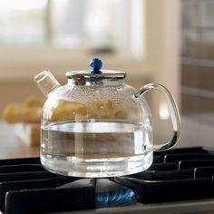 heat-proof lab glass tea kettle