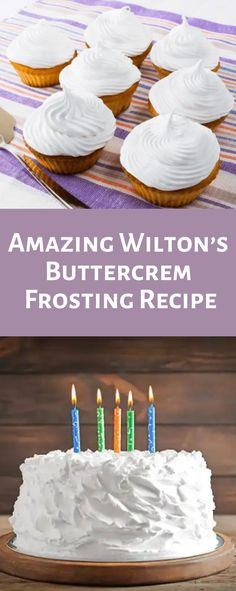 Wilton is well known for its quality bakeware and amazing recipes. They are dessert experts and their products can be found in stores all over. There's no doubt that Wilton buttercream frosting recipe will satisfy your sweet cravings. Wilton Butter Cream Frosting Recipe, Best Frosting Recipe, Buttercream Frosting For Cupcakes, Cake Filling Recipes, Frosting Recipes, Frosting Tips, Wilton Wedding Cake Frosting Recipe, Best Buttercream Recipe For Piping, Bakery Style Frosting Recipe