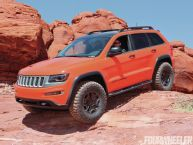 Jeep Grand Cherokee Trailhawk Concept with Diesel engine.