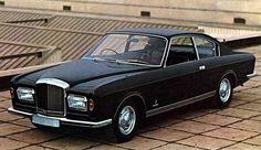 Bentley T1 Coupe Speciale Pininfarina, ancien modèle  de carrossier rarissime conçu  en 1968