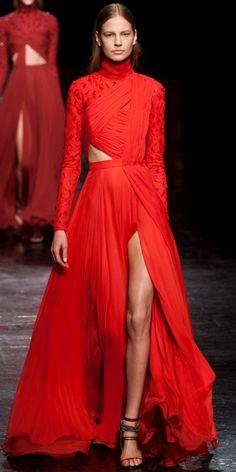 Prabal Gurung #couture #gown #glamour #stunning #RED #fierce #sexy #beautiful #runway