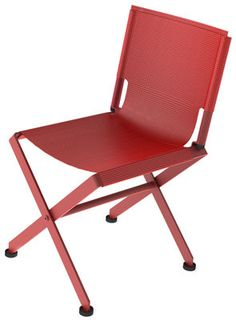 Zephir Foldable chair - Fabric seat