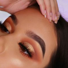 47 Stunning Eye Makeup Looks That Wow - Hair and Beauty eye makeup Ideas To Try - Nail Art Design Ideas Makeup Eye Looks, Cute Makeup, Prom Makeup, Gorgeous Makeup, Skin Makeup, Eyeshadow Makeup, Beauty Makeup, Flawless Makeup, Eyeshadows
