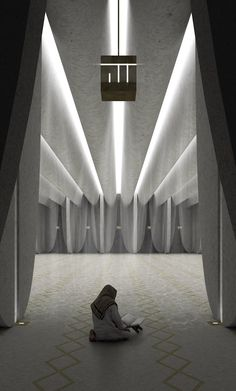 rzlbd architects proposes mosque design in dubai creek harbour site Architecture Design, Mosque Architecture, Religious Architecture, Quran Wallpaper, Islamic Wallpaper, Ramadan, Alhamdulillah, Abu Dhabi, Mosque Vector