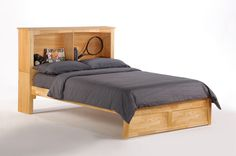 The Vanilla K-Series Bed in natural finish