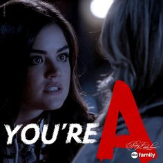 "S5 Ep14 ""Through a Glass, Darkly"" - You're A -- Aria #PLL"
