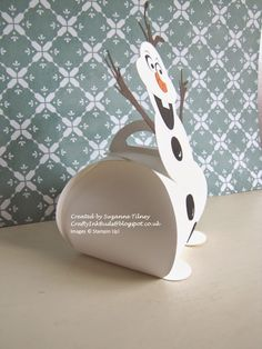 Crafty Ink Buds: Frozen Olaf from Stampin' Up! Curvy Keepsake Box