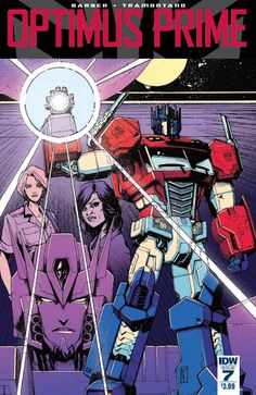 IDW's Optimus Prime Issue #7 Full Comic Book Preview