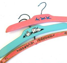 I have this exact hanger...the pink one at the top with the blue birds!!
