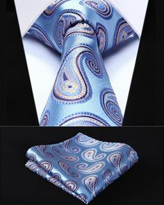 Cheap handkerchief set, Buy Quality mens ties directly from China square tie Suppliers: Party Wedding Classic Pocket Square Tie Blue Orange Paisley Silk Woven Men Tie Necktie Handkerchief Set Man Weave, Wedding Ties, Party Wedding, Vogue, Suit Accessories, Fashion Accessories, Tie And Pocket Square, Pocket Squares, Men Accessories