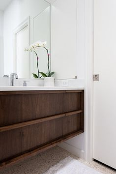 Walnut Vanity Design Ideas, Pictures, Remodel and Decor