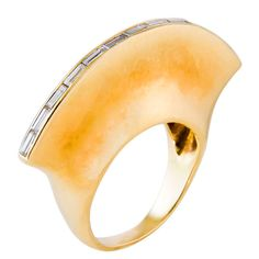 PALOMA PICASSO for TIFFANY & CO Mohawk Ring....  i am not a jewelry girl, but this is absolutely BITCHIN'.........