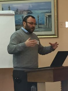 Dr. Andrey Puzynin from TCMI @ Ecclesiology & Ethnography conference