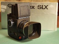 ROLLEI SLX Medium Format Camera System Professionally Used in Mint Condition.