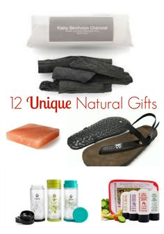 12 Unique Natural gifts - perfect for those people in your life who love healthy living and natural products #ecofriendly