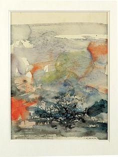 Untitled by Zao Wou-Ki