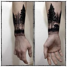 002_Wrist-Tattoo-Allergo Chirurgo-Tree-Forrest