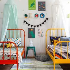 Baby Playroom Interior with Solid Color Cotton Bed Canopy Inspiration Girls Bedroom, Bedroom Bed, Boys Bed Canopy, Baby Playroom, Playroom Decor, Deco Kids, Kids Room Design, Boy Room, Decoration