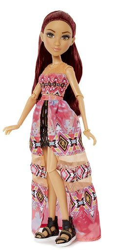 Project Experiments with Doll Camryn's Tie Dye Toy Project Mc2 Toys, Project Mc Square, Projekt Mc2, Blush Flower Girl Dresses, Jojo Bows, Barbie Collector, Secret Organizations, Doll Crafts, Pallet Projects