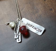 Harry Potter Jewelry Harry Potter Necklace by sierrametaldesign, $38.00  I WANT THIS SO BAD!!