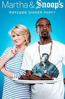 Martha And Snoop Dog's Potluck Dinner Party Is Funny As Hell   When we first heard of a show consisting of Martha Steward and Snoop Doggit sounded stupid and even awkward. Two people who have almost nothing in common doing a what cooking show together? Fortunately the show does a really good job of pointing out just that... There completely different. With Martha's side of the kitchen plushed out with fancy counter space a fridge that plays opera when opened and snoops side more urban and a…