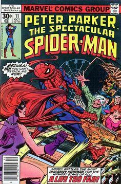 Peter Parker, The Spectacular Spider-Man # 11 by Al Milgrom