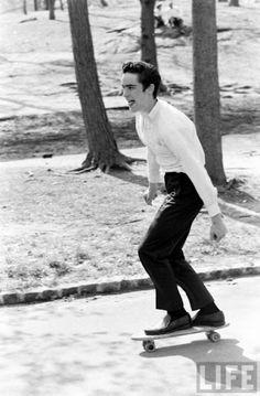 """""""O skate nos anos 60″ – Série fotográfica  The Hype BR"""