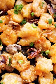 Candied Honey Walnut Shrimp is so #delicious and easy to prepare. Enjoy this dish during lunch or dinner this week!