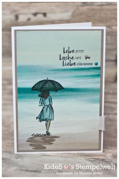 Stampin' Up! Beautiful You meets Serene Scenery DSP