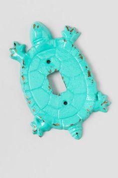 Iron turtle light fixture
