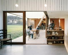 I don't like truth, ...EASTERN design office - The World Is His Oyster: A Modern Fishing Shack by...
