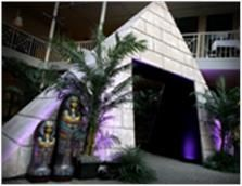 Egyptian Pyramid Walk Through Entrance
