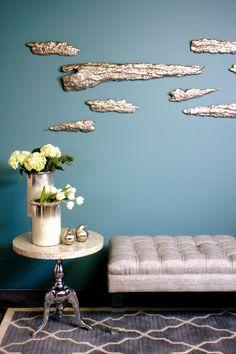 Aluminum wall decors by Rojo16