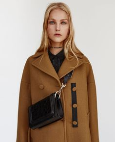 8303410bcce Image 3 of OVERSIZED COAT from Zara Oversized Coat